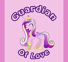 Cadence: Guardian of Love iPad Case by Geek-Spirations