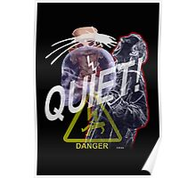 Quiet shirt by D.W.Arts Poster