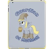 Derpy: Guardian of Muffins iPad Case iPad Case/Skin