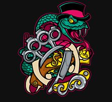 Snakes and Razors Unisex T-Shirt