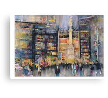 Time Warner Building New York City Canvas Print