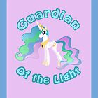 Celestia: Guardian of the Light iPad Case by Geek-Spirations