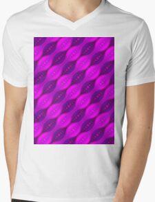 Retro Style Mens V-Neck T-Shirt