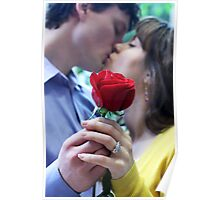 Red Rose Romance Poster