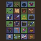 Zelda Items and Weapons Patchwork by jackandcharlie