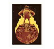 Starman Own Earth Art Print