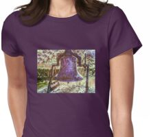 Paterson NJ Historic Bell, Digital Artwork Womens Fitted T-Shirt