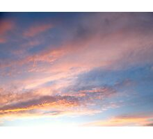 Grecian skies Photographic Print