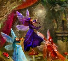 Dancing Auroras - Charmed Melodies by Aimee Stewart