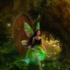 Dancing Auroras - Green Fairy II by Aimee Stewart