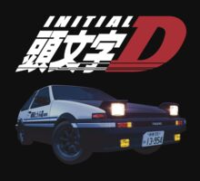 Initial D Anime T-Shirt by briancastro