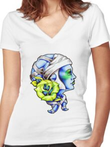 Aayla Secura Women's Fitted V-Neck T-Shirt