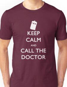 Keep Calm and Call the Doctor (TARDIS) Unisex T-Shirt
