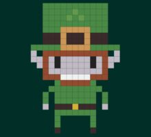 Pixel Art Leprechaun by jaredfin