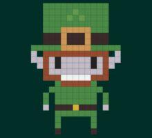 Pixel Art Leprechaun by jaredfin