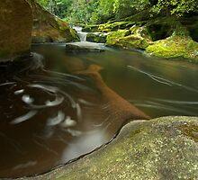 """""""Corkscrew Falls"""" -- Chattooga River by Matt Tilghman"""