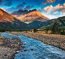 Blakiston Creek - Waterton Lakes National Park by Mark Kiver