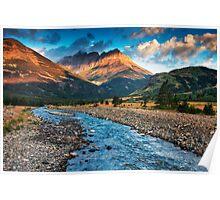 Blakiston Creek - Waterton Lakes National Park Poster