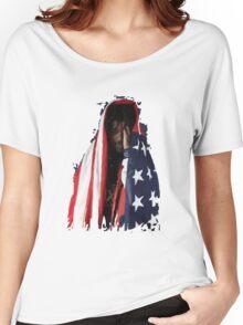 Amerikkkan Steez Women's Relaxed Fit T-Shirt