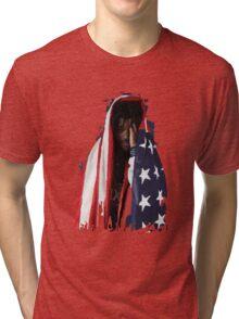 Amerikkkan Steez Tri-blend T-Shirt