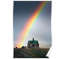Prince of Wales Rainbow Poster
