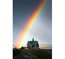 Prince of Wales Rainbow Photographic Print