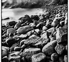 The Pinnacles, Phillip Island - monochrome by photograham