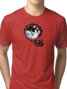 Emo love Tri-blend T-Shirt