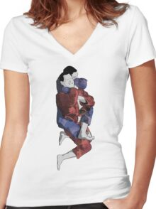 The Ground is my Ocean Part Four Women's Fitted V-Neck T-Shirt