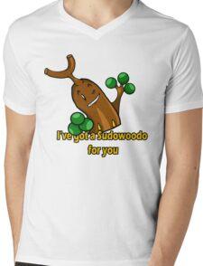 Sudowoodo Mens V-Neck T-Shirt