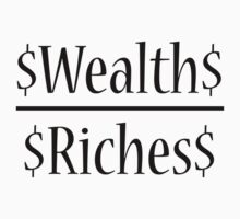 Wealth Over Riches by lifertattoos