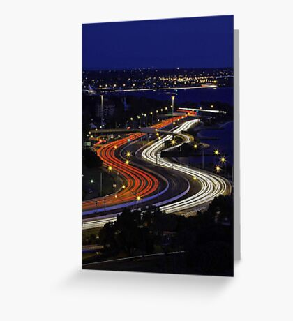 Kwinana Freeway - Western Australia  Greeting Card