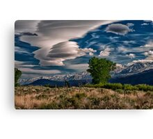 Owens Valley Lenticular Canvas Print