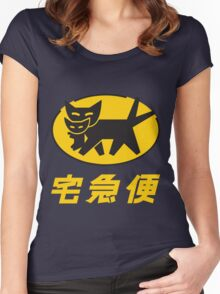 Nekomata Transport Women's Fitted Scoop T-Shirt