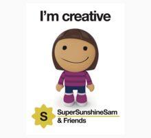 Super Sunshine Sam & Friends - Paola One Piece - Short Sleeve