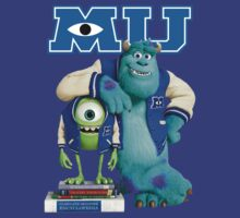 Monsters University T-Shirt by briancastro