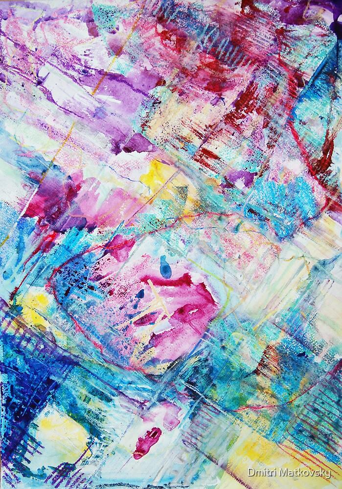 Colored Winter by Dmitri Matkovsky