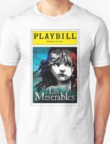 Les Miserables Playbill Unisex T-Shirt