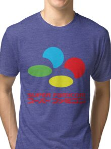 Super Famicom Tri-blend T-Shirt