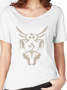 Wolf Link Blue Eyed Beast Women's Relaxed Fit T-Shirt