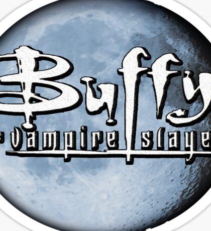 Buffy logo Sticker