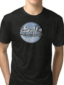 Buffy logo Tri-blend T-Shirt