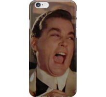 Goodfellas Laughing  iPhone Case/Skin