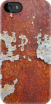 Old Vintage Rust iPhone Cases by ilolab