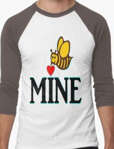 °•Ƹ̵̡Ӝ̵̨̄Ʒ♥Bee Mine-Cute HoneyBee Clothing & Stickers♥Ƹ̵̡Ӝ̵̨̄Ʒ•° Men's Baseball ¾ T-Shirt