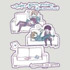 Couples Gaming Positions. by Tandpasta