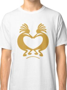 kokopelli with heart Classic T-Shirt