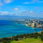 Honolulu city view by raymona pooler