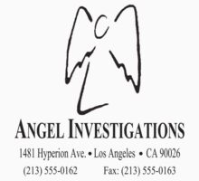 "Angel Investigations (From the series ""Angel"") Kids Tee"