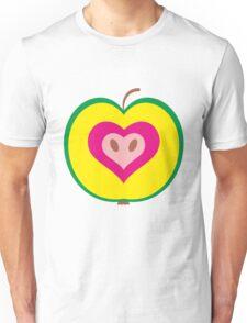 Apple Heart Unisex T-Shirt